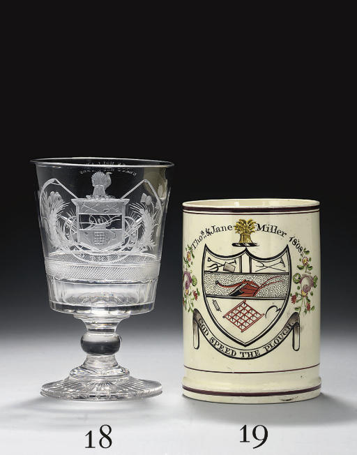 A CUT AND ENGRAVED RUMMER