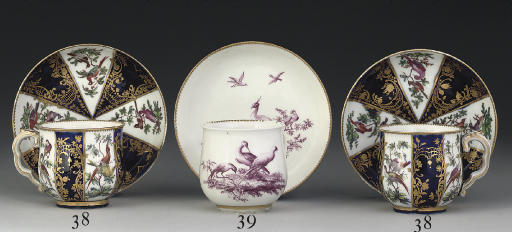 A CHELSEA BALUSTER COFFEE-CUP