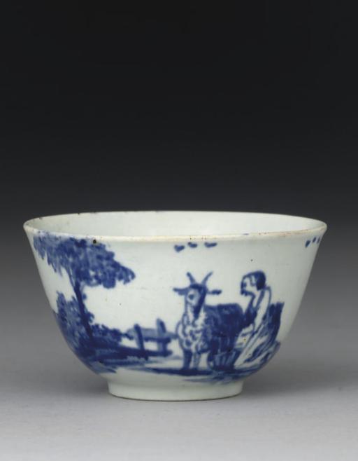 A VAUXHALL BLUE AND WHITE TEAB