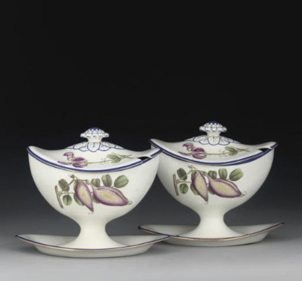 A PAIR OF NEALE & WILSON PEARL