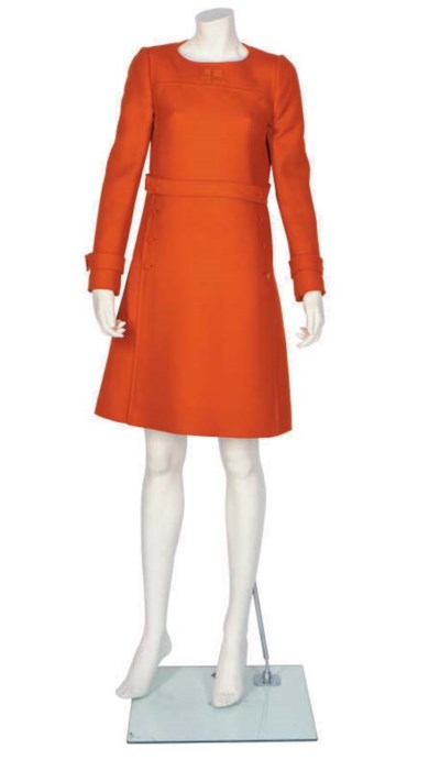 ANDRE COURREGES, AN ORANGE TUN