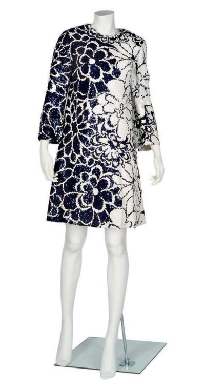 MILA SCHOEN COCKTAIL DRESS