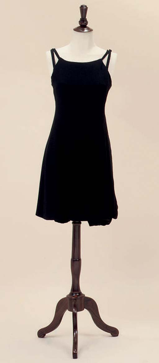 CHRISTIAN DIOR PARIS, A LITTLE BLACK DRESS