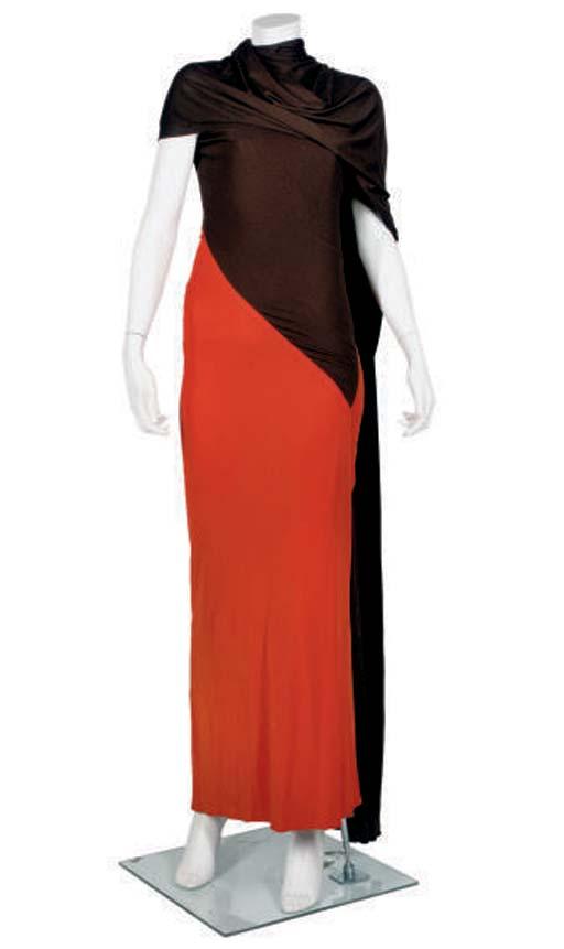 MADAME GRES DRESS, 1930S