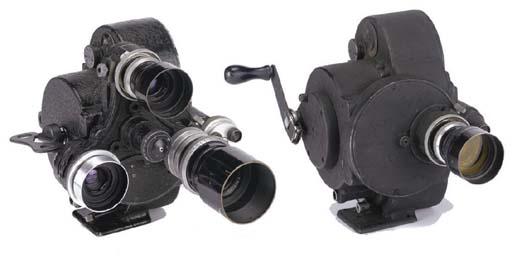 Russian Eyemo cameras