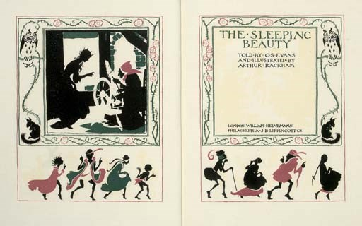 The Sleeping Beauty told by C.