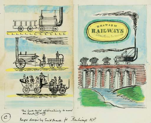 A collection of original drawings and book proofs, including Slithery Sam; and A Book of Rigmaroles