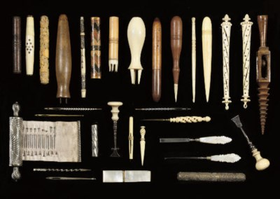 A COLLECTION OF SEWING TOOLS