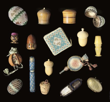 A COLLECTION OF THIMBLECASES A