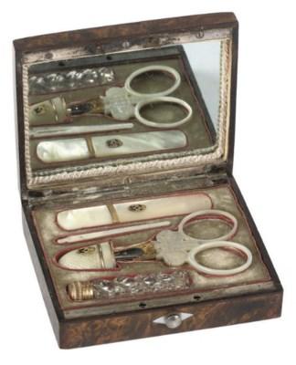 A Palais Royal sewing set
