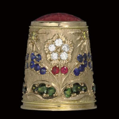 A modern German 18ct. gold thi