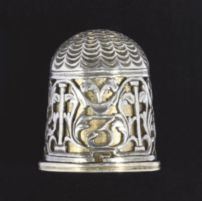 A German silver and silver-gil
