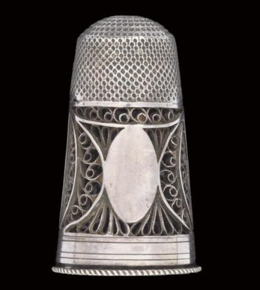 An English silver combination