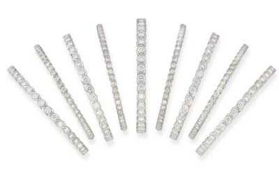 A COLLECTION OF DIAMOND BANGLE