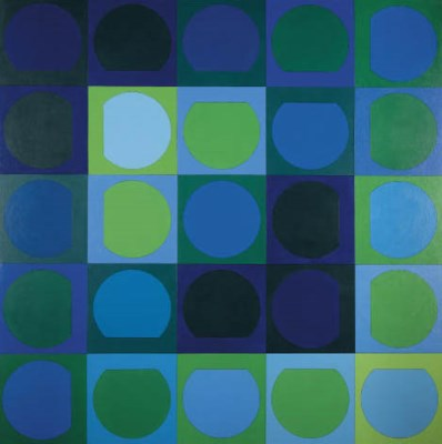 Victor Vasarely (Hungarian, 19