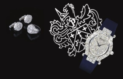 PIAGET. A MAGNIFICENT 18K WHIT