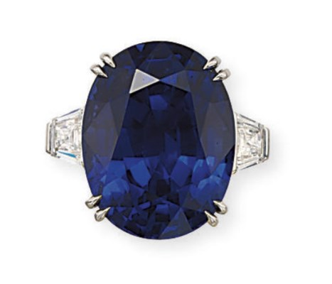 A RARE AND IMPORTANT SAPPHIRE