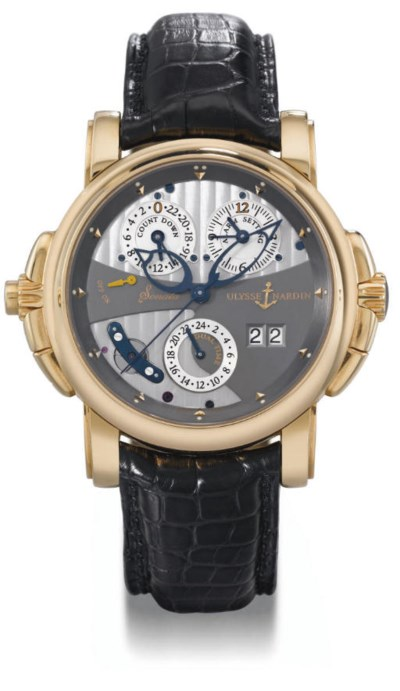 Ulysse Nardin. An unusual and