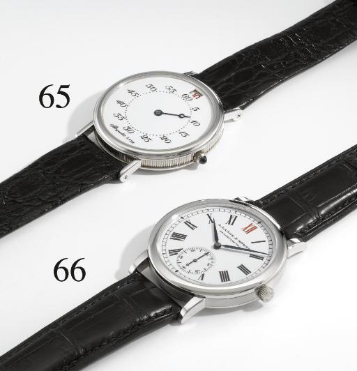 A. Lange & Söhne. A fine and r
