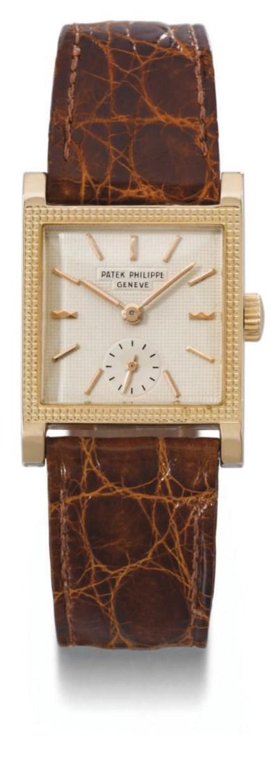 Patek Philippe. A fine 18K pin