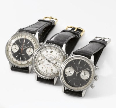 Breitling. A lot of three stai