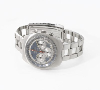 Zenith. An unusual stainless s