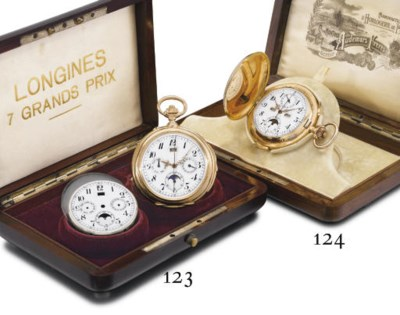 Longines. A fine and large 18K