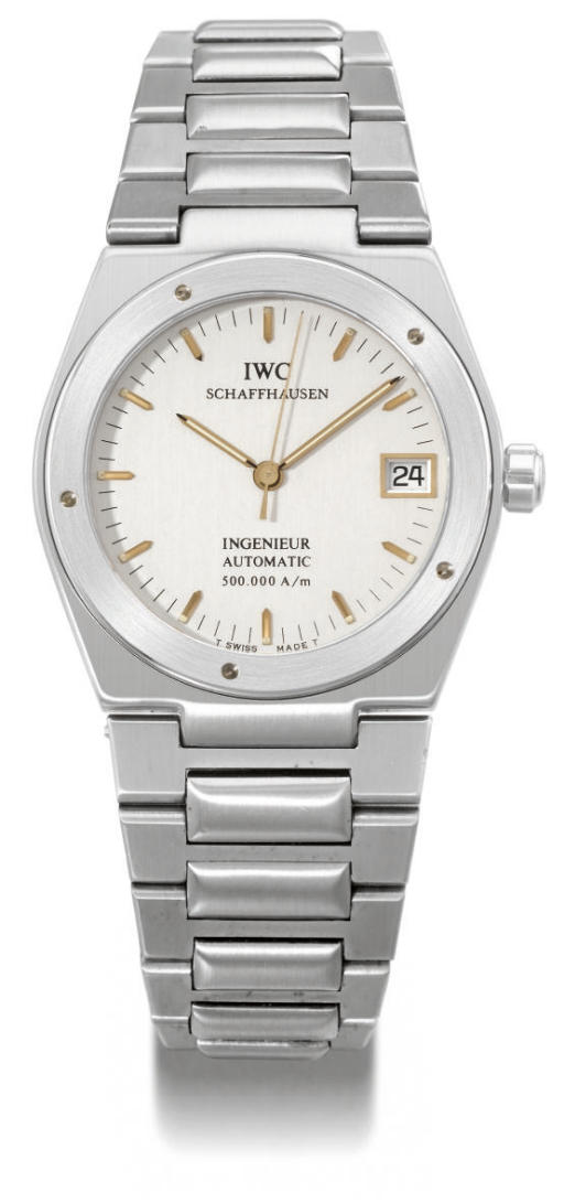 IWC. An unusual stainless stee