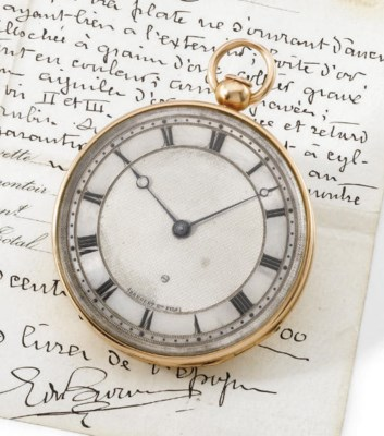 Breguet. A fine and large 18K