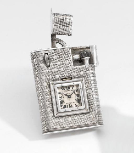 Cartier. An unusual silver lig