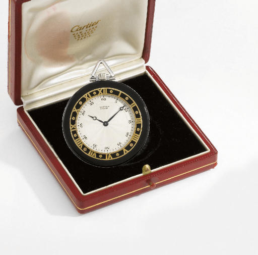 Cartier. A fine and rare 18K g