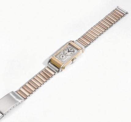 Rolex. A fine and rare 18K whi
