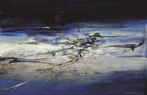 ZAO WOU-KI (ZHAO WUJI, Born in 1921)