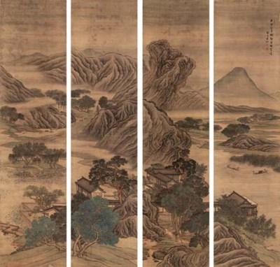 YUAN JIANG (CIRCA 1690-1730)