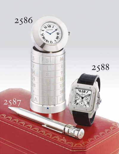 CARTIER. AN OVERSIZED STAINLES