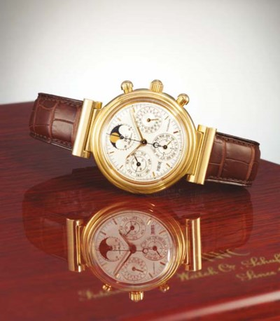 IWC. A RARE LIMITED EDITION 18