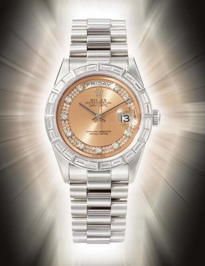 ROLEX. AN EXTREMELY FINE AND R
