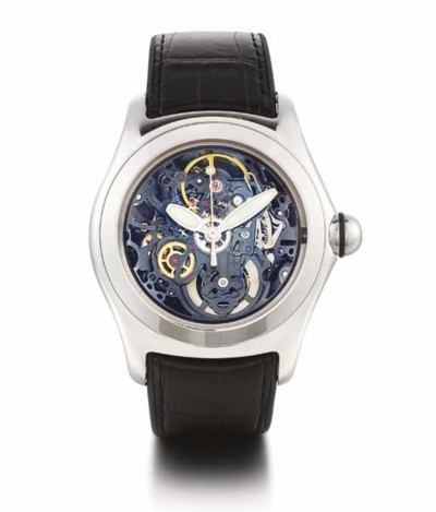 CORUM. A STAINLESS STEEL SKELE