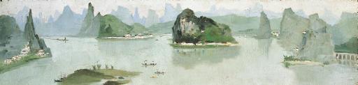 WU GUANZHONG (Born in 1919)