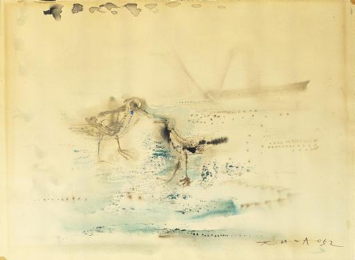 ZAO WOU-KI (ZHAO WUJI, Born in 1920)