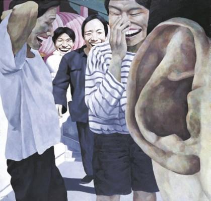 YUE MINJUN (Born in 1962)