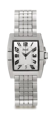 PIAGET. A STAINLESS STEEL AUTO