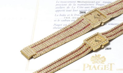 PIAGET. A FINE AND IMPRESSIVE