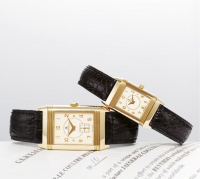 JAEGER-LECOULTRE. A PAIR OF LI