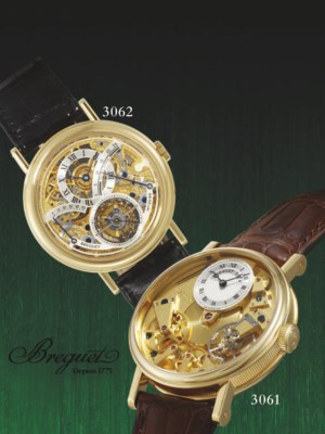 BREGUET. A FINE AND UNUSUAL 18