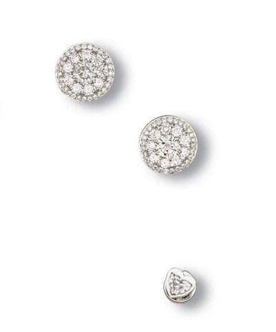 A SET OF DIAMOND GENTLEMAN'S J