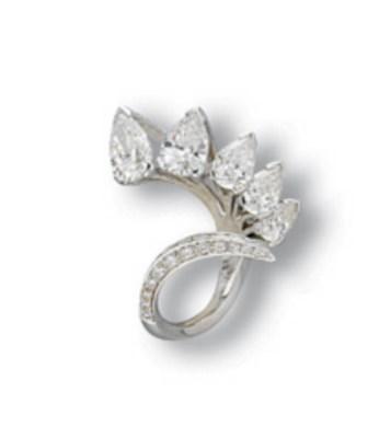 A DIAMOND 'IRIDE' RING, BY SCA