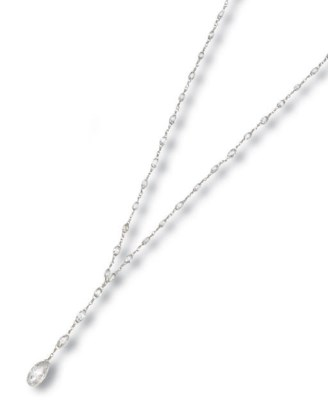A DIAMOND PENDENT NECKLACE