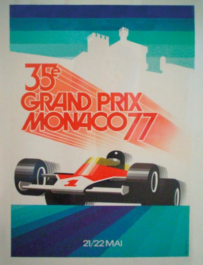 1977 Grand Prix of Monaco post