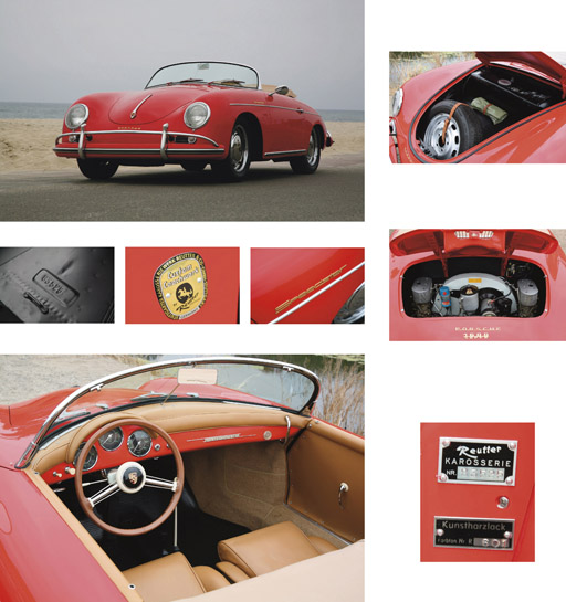 1957 PORSCHE 356A 1600 SUPER SPEEDSTER